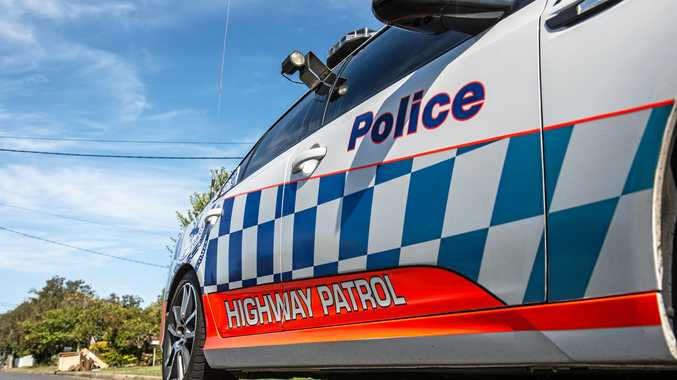 NSW police  highway patrol car. 07 October 2016