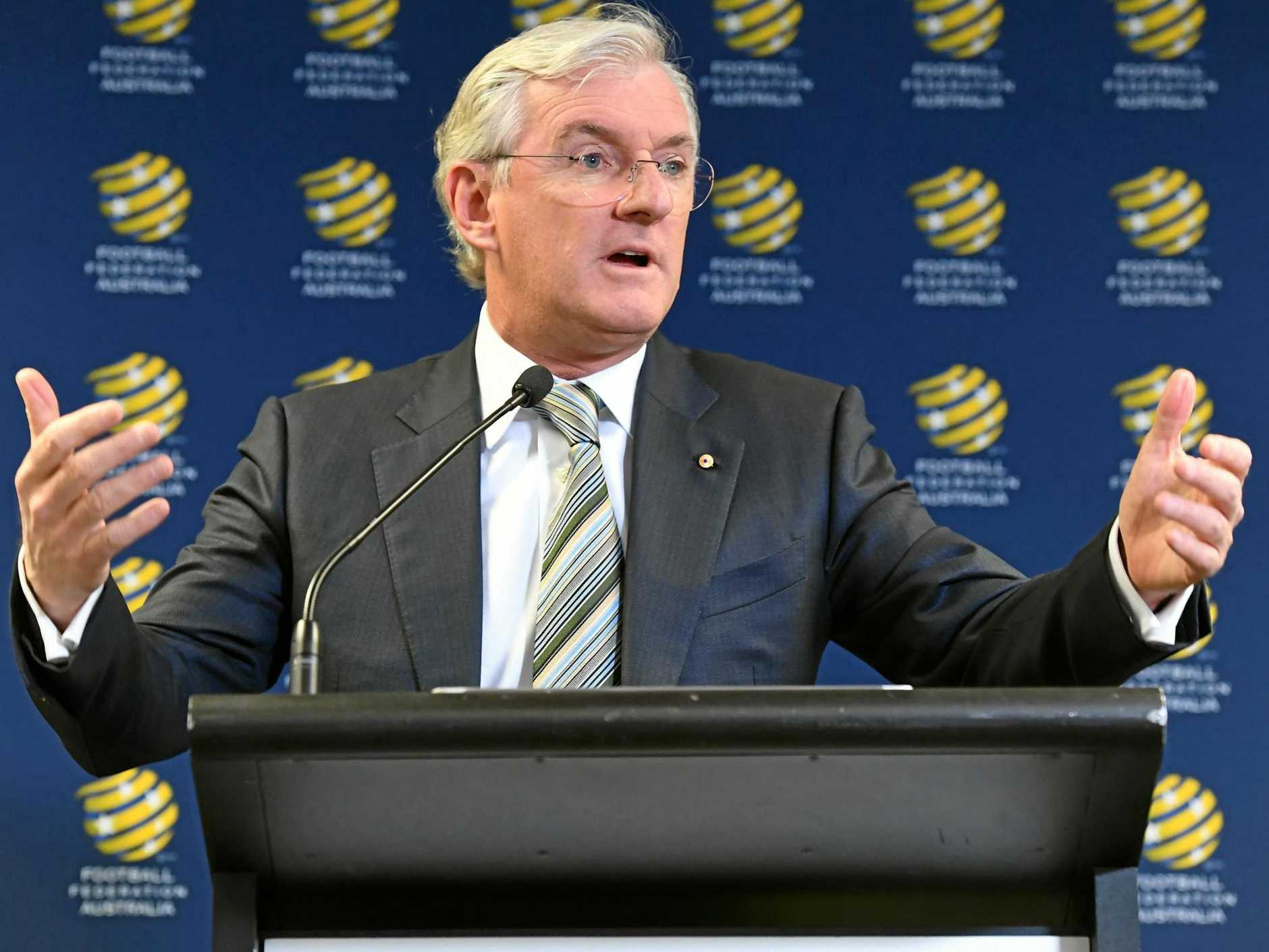 FFA chairman Steven Lowy says he fears for soccer's future in Australia. Picture: Peter Rae/AAP