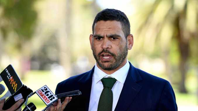 South Sydney Rabbitohs NRL player Greg Inglis addresses media after his drink driving charge.