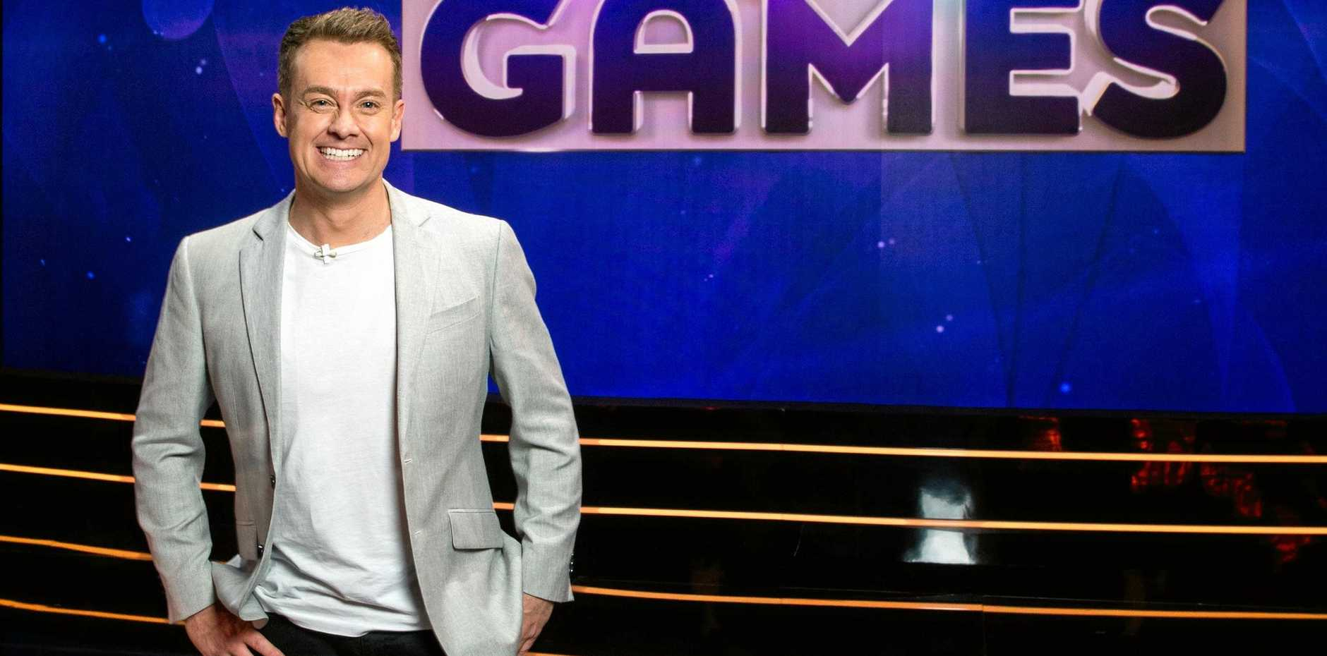 Grant Denyer hosts the new game show Game of Games.