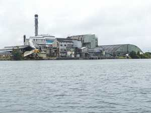 Sugar mill in final half of crushing