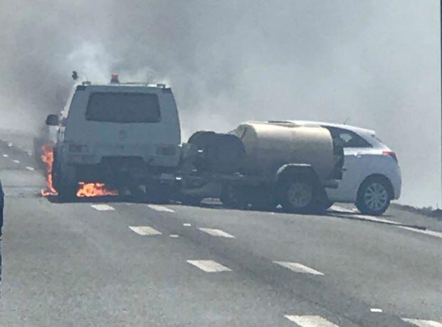 HIGHWAY CRASH: Two taken to hospital after crash on Warrego Highway.