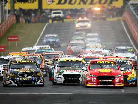 The most prolific winners of the Bathurst 1000 — not surprisingly — come from the front row of the grid. Picture: Daniel Kalisz/Getty