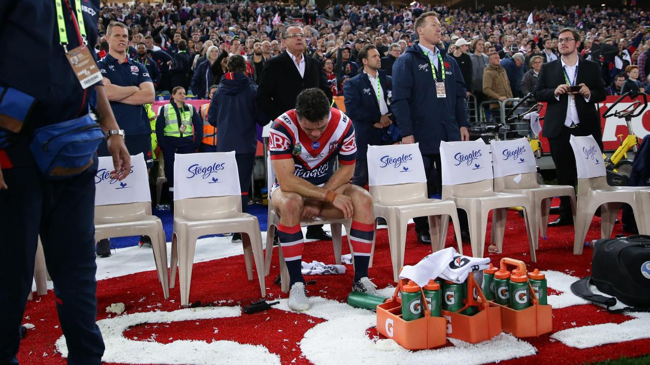 We're still learning about the courage Cooper Cronk mustered to play in the 2018 NRL grand final.