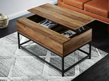 The industrial lift-up coffee table ($59.99).