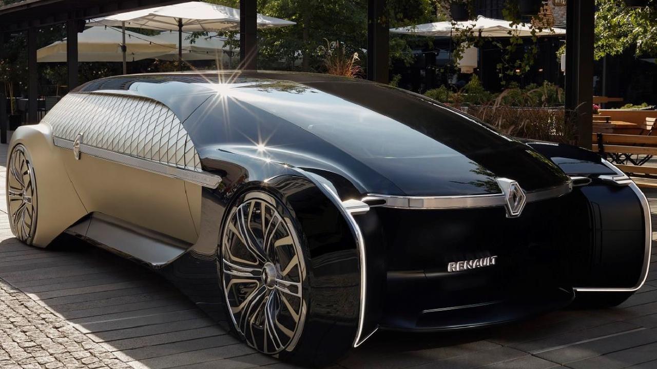 2018 Renault Ez-Ultimo concept.
