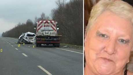 Mrs Blackman, 66, died in hospital several weeks after the crash. Picture: Police Scotland
