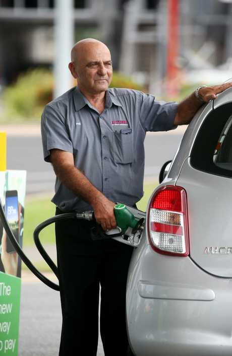 It's not just people filling up at the bowser who are feeling the pain. What about the businesses struggling to absorb the cost of increased fuel? Picture: Stewart McLean
