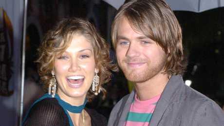 Delta Goodrem and Brian McFadden at MTV Australia Video Music Awards in 2005.