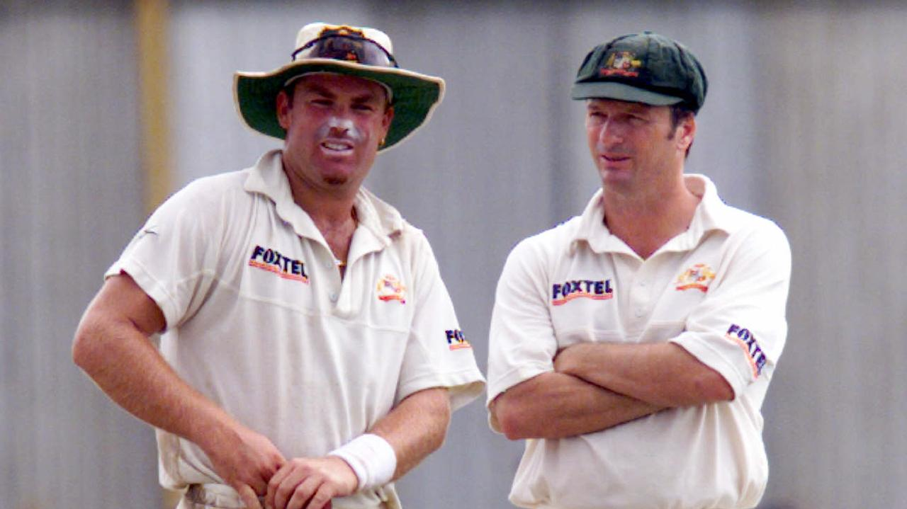 Shane Warne and Steve Waugh had their problems.