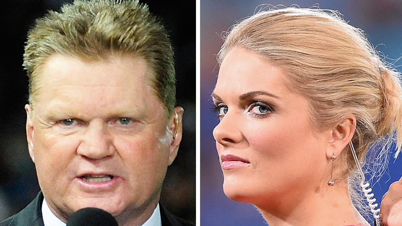 The sort of thing Fatty Vautin provided for a record 24 years was the sort of thing Erin Molan was singularly incapable of bringing to the table, Mike Colman argues. Picture: Matt Roberts/Getty Images