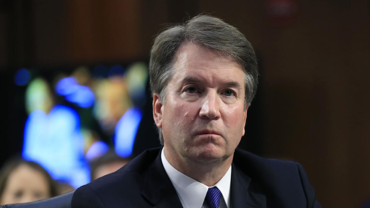 Supreme Court nominee Brett Kavanaugh denies all allegations being made against him by Blasey Ford. Picture: AP/Manuel Balce Ceneta