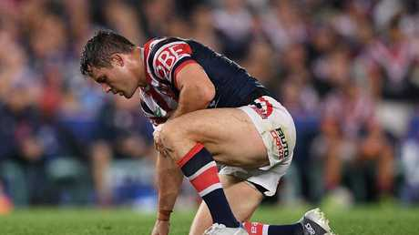 Cooper Cronk suffered a broken scapula in the preliminary final.
