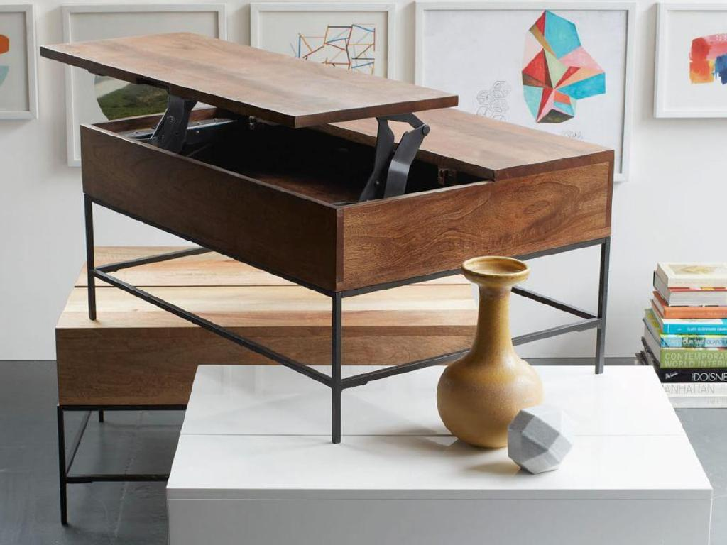 This is West Elm's coffee table, which is currently selling for $639.