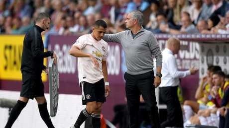Alexis Sanchez and Jose Mourinho haven't had the best relationship.