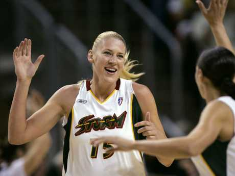Lauren Jackson was a star in Seattle, winning the MVP. But in the