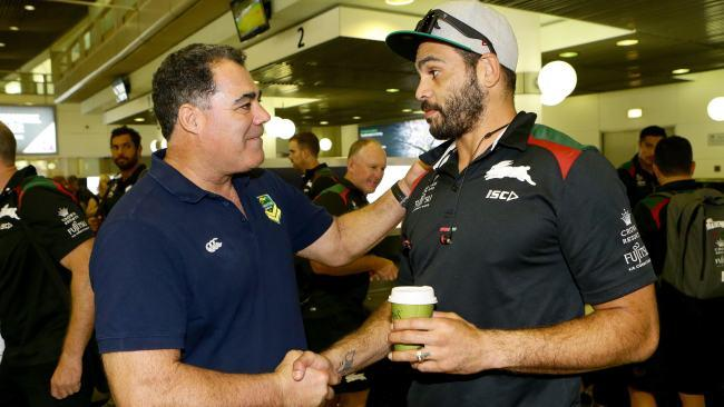 Mal Meninga said he wants to see Greg Inglis back in the green and gold.