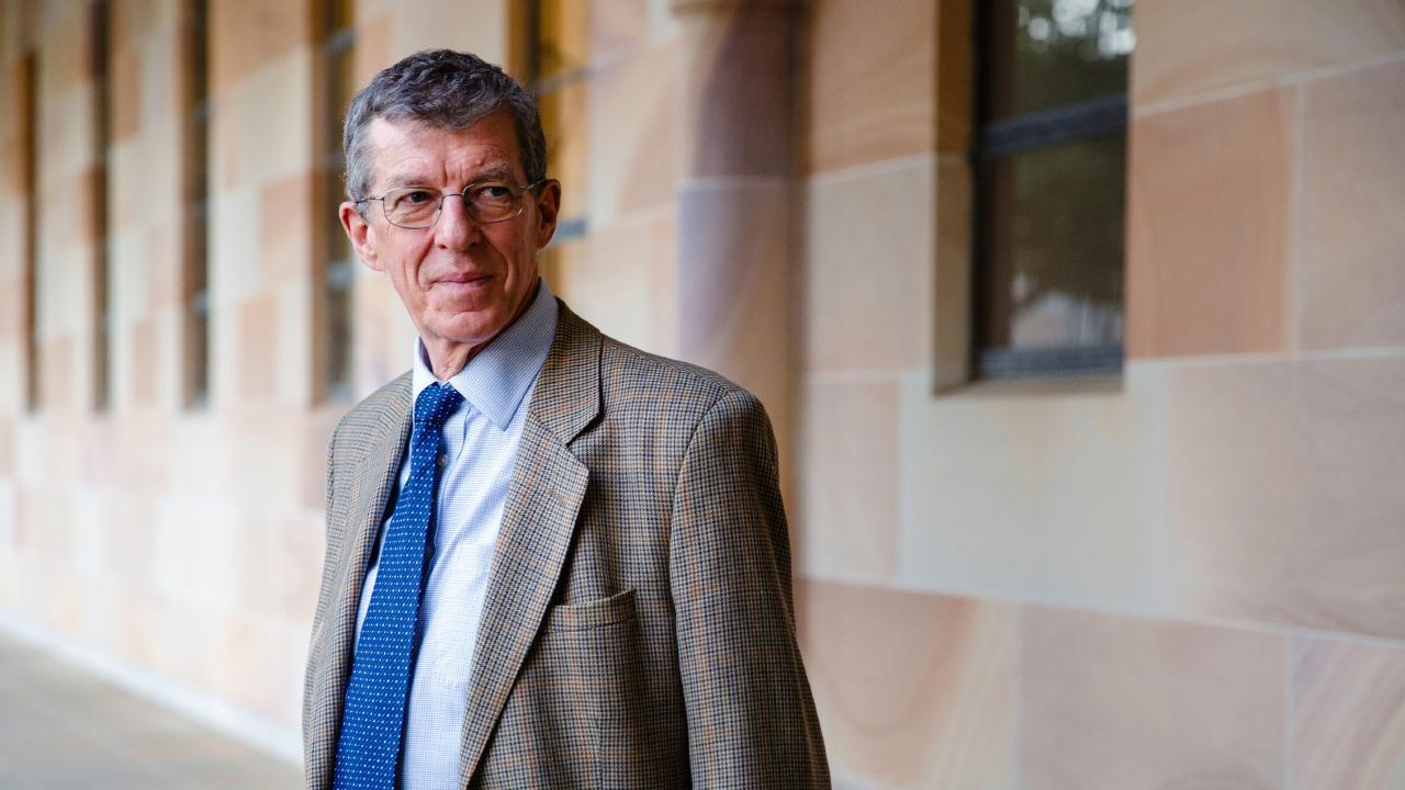 UQ Professor Ian Frazer developed the lifesaving Gardasil vaccination in conjunction with his late colleague, Jian Zhou.