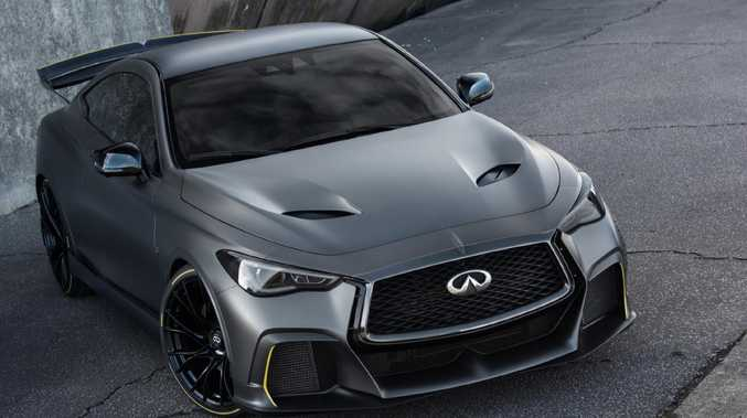Infiniti Uses F1 Tech In Road Car Good For 0 100km H In 4 Sec
