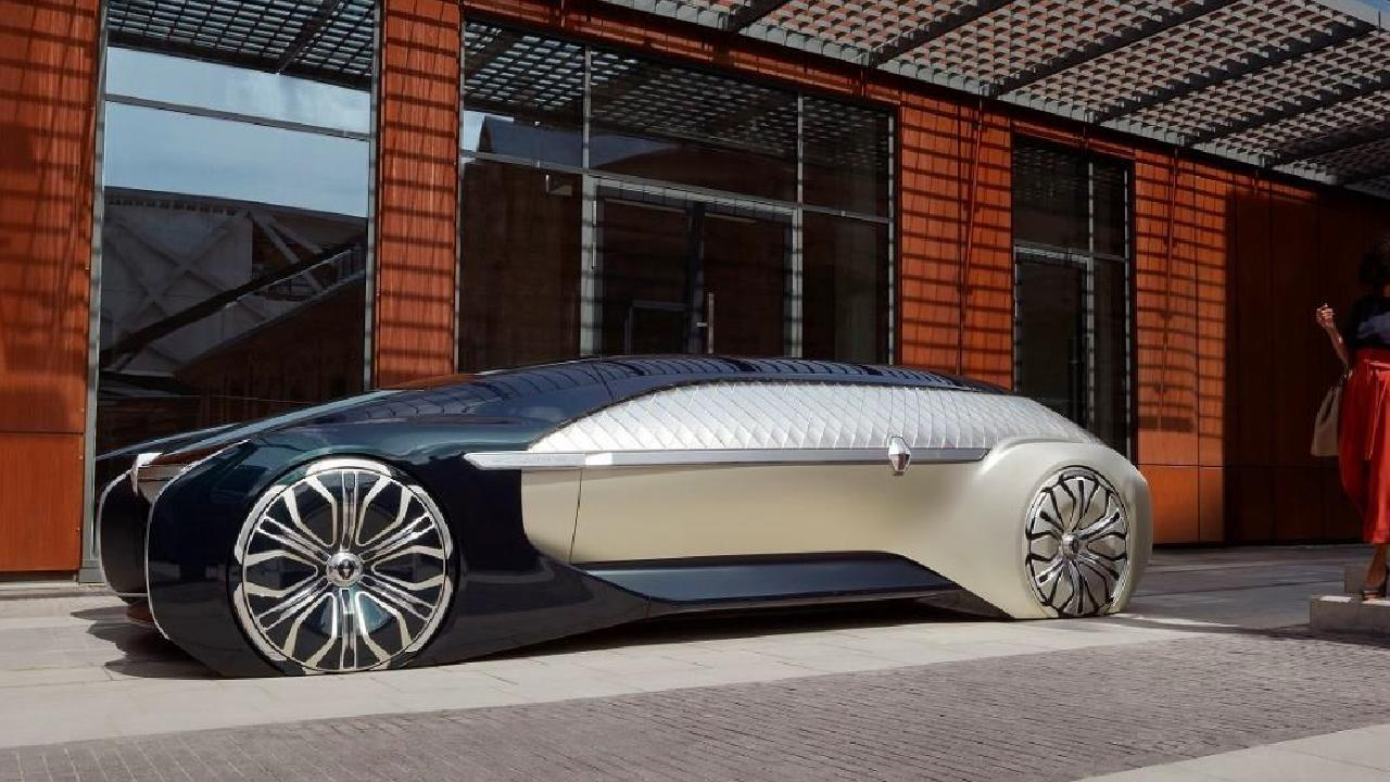 The Renault Ez-Ultimo is designed to be the ultimate luxury limousine.