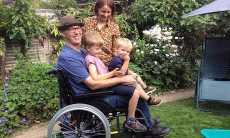 Joe's journey with MND started quietly - but the dad knows he doesn't have much time left.