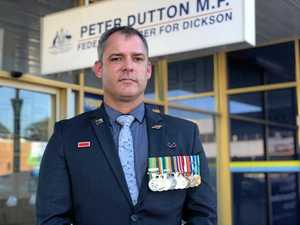 Maryborough war veteran gets face time with Dutton