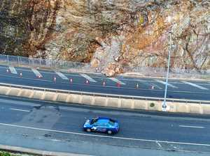 Traffic detours in place for cliff repairs on coast