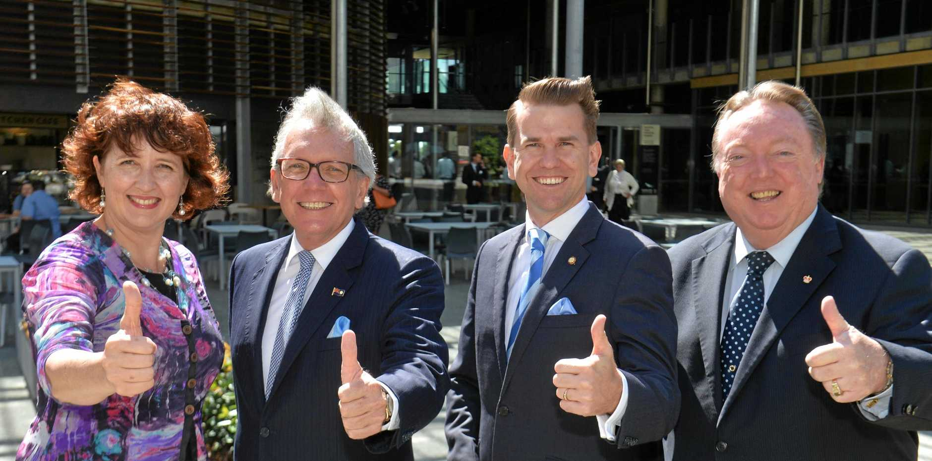 The expenses of Fiona Simpson, Mark McArdle, Jarrod BLeijie, and Glen Elmes have been revealed in a new report tabled in Queensland Parliament.
