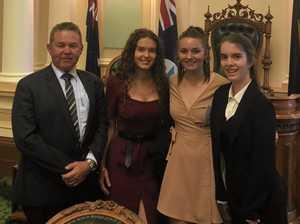 Teens impress politicians at QLD Youth Parliament