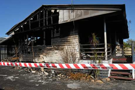 Fire has destroyed a home at Gatton this week.