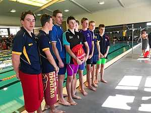 Flyers shine at swim meet