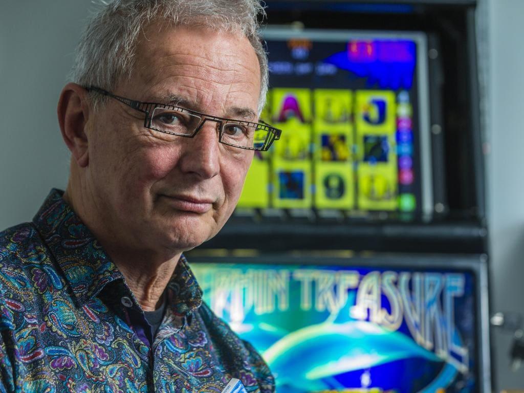 Gambling expert Dr Charles Livingstone from Monash University. Picture: Valeriu Campan