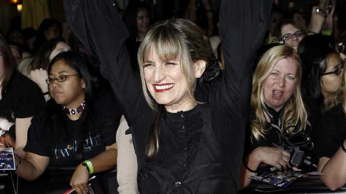 Director Catherine Hardwicke arrives at the premiere of Twilight. Picture: AP/Matt Sayles
