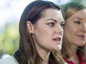 Sarah Hanson-Young apologises to Ray Hadley