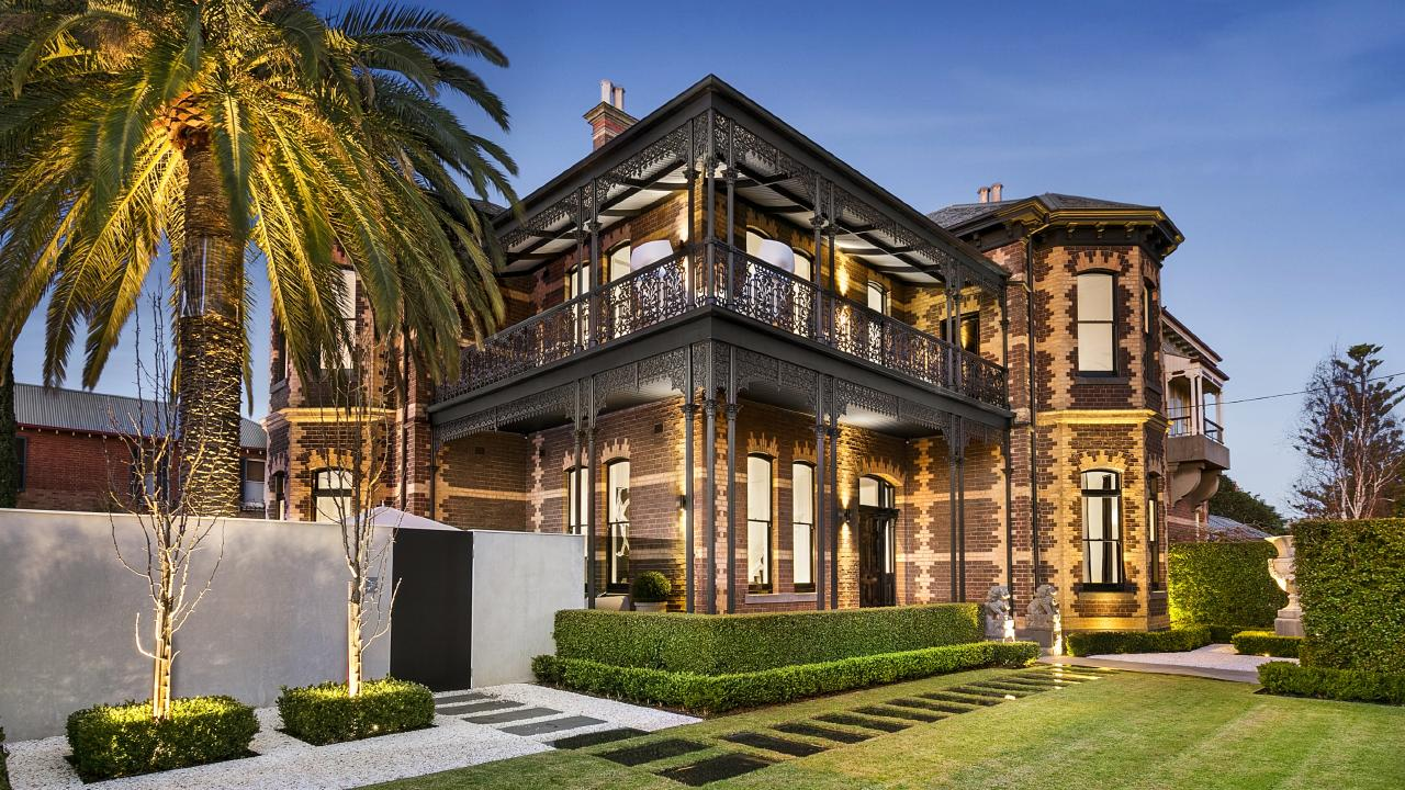 'Stanhope' at 56 Holmes Rd, Moonee Ponds is on the market with a $5-$5.5 million price guide.
