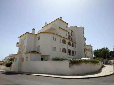 The apartment block in Praia da Luz in Portugal, where Madeleine McCann was last seen alive.