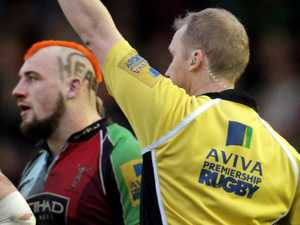 England rugby star's incredible red card admission