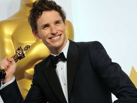 Eddie Redmayne ran away with the Best Actor Oscar for The Theory Of Everything. Picture: Getty