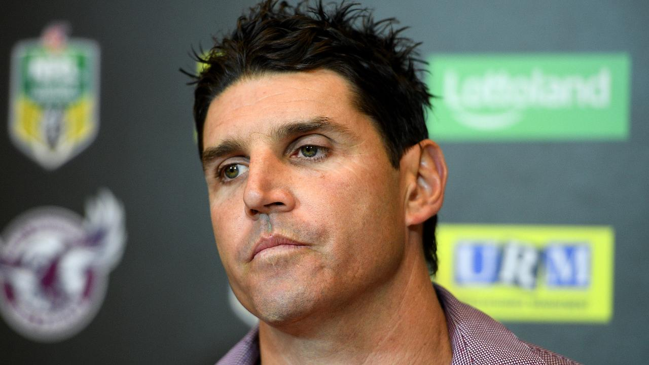 Trent Barrett is battling Manly for a release.