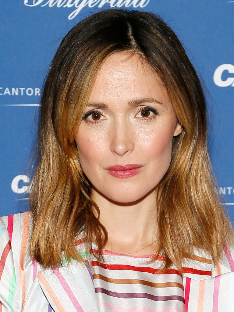 Aussie actress Rose Byrne came in at number five. Picture: Getty Images