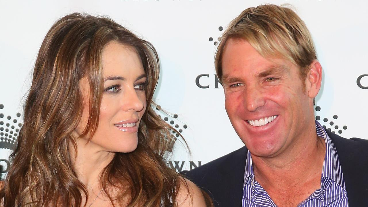 In his new book, Shane Warne has revealed how he and Elizabeth Hurley got together and what drove them apart. Picture: Scott Barbour/Getty Images