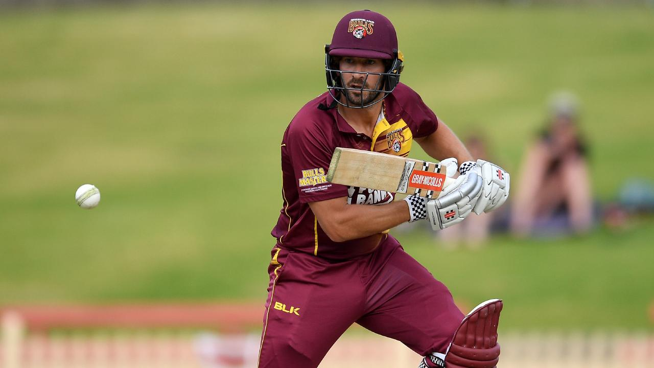 Joe Burns in action for Queensland against South Australia on Wednesday. Picture: AAP