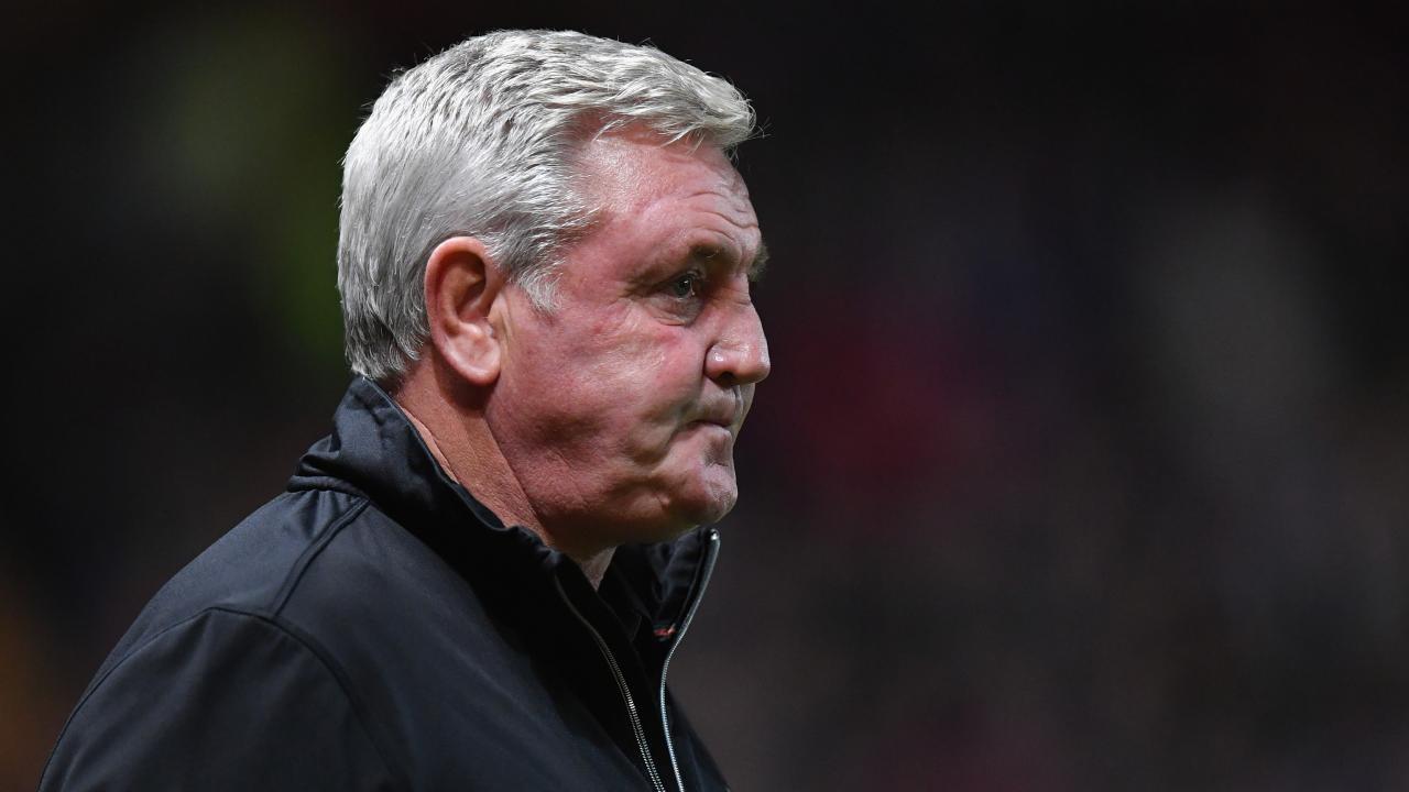 Aston Villa coach Steve Bruce is fuming