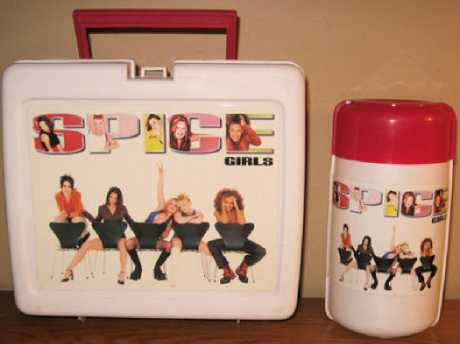Only the most extra kids had the limited edition Spice Girls lunch box and Thermos set … And yes, that kid was me. Picture: @The90sLife