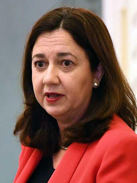 Premier Annastacia Palaszczuk. Picture: AAP/Dan Peled