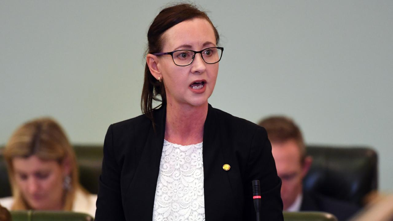 Queensland Attorney-General Yvette D'Ath speaks during Question Time. File picture: Dan Peled/AAP