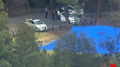 Police are treating it as suspicious. Picture: Seven News