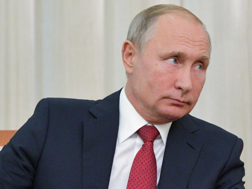 Russian President Vladimir Putin. Picture: AP