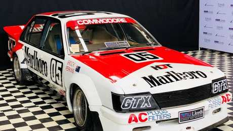 Brock's 1982/1983 Bathurst-winning HDT VH Commodore has already hit seven figures in the bidding.