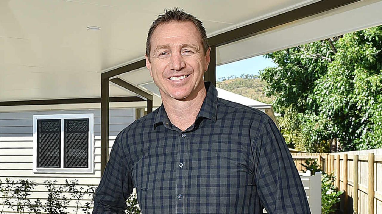 Former Cowboys star turned businessman Martin Locke has remained by his daughter's hospital bed while she recovers.
